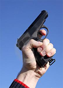 Starting gun