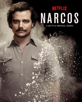 Pablo Escobar as the chief villain