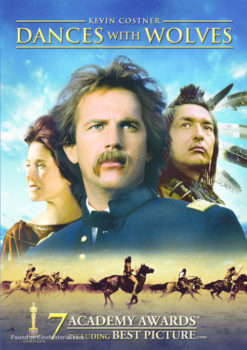 Scenes and story thrust in Dances with Wolves
