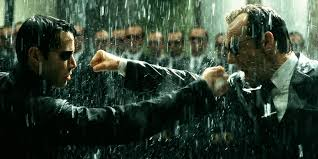 The dramatic premise in The Matrix