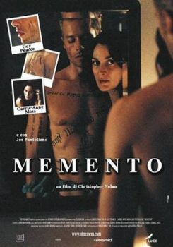 Fabula and syuzhet in Memento