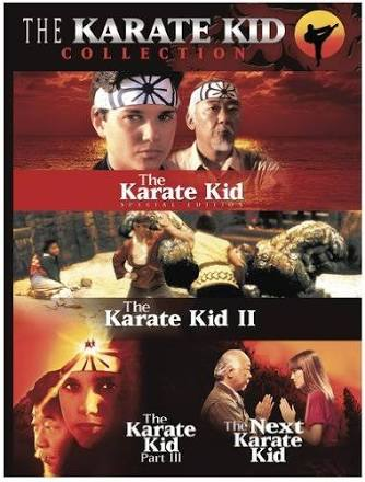 Story structure in The Karate Kid