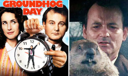 Controlling idea in Groundhog Day