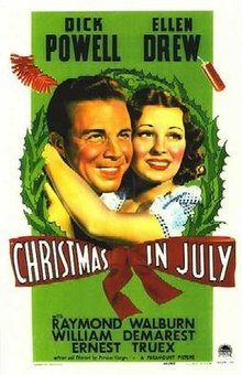 Coincidence in Christmas in the film July
