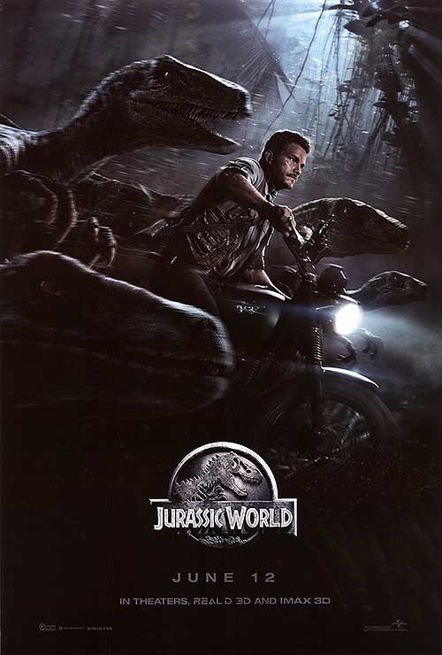 Jurassic world is a new story idea from a great concept