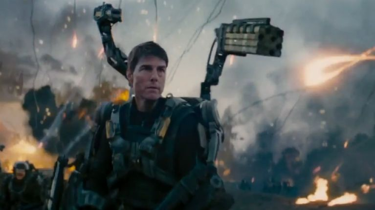 Scene tension in Edge of Tomorrow
