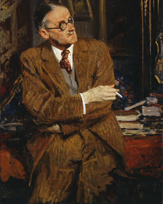 James Joyce as a pantser