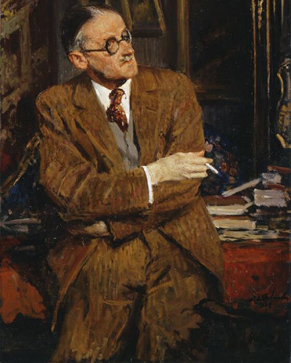 James Joyce as a pantser