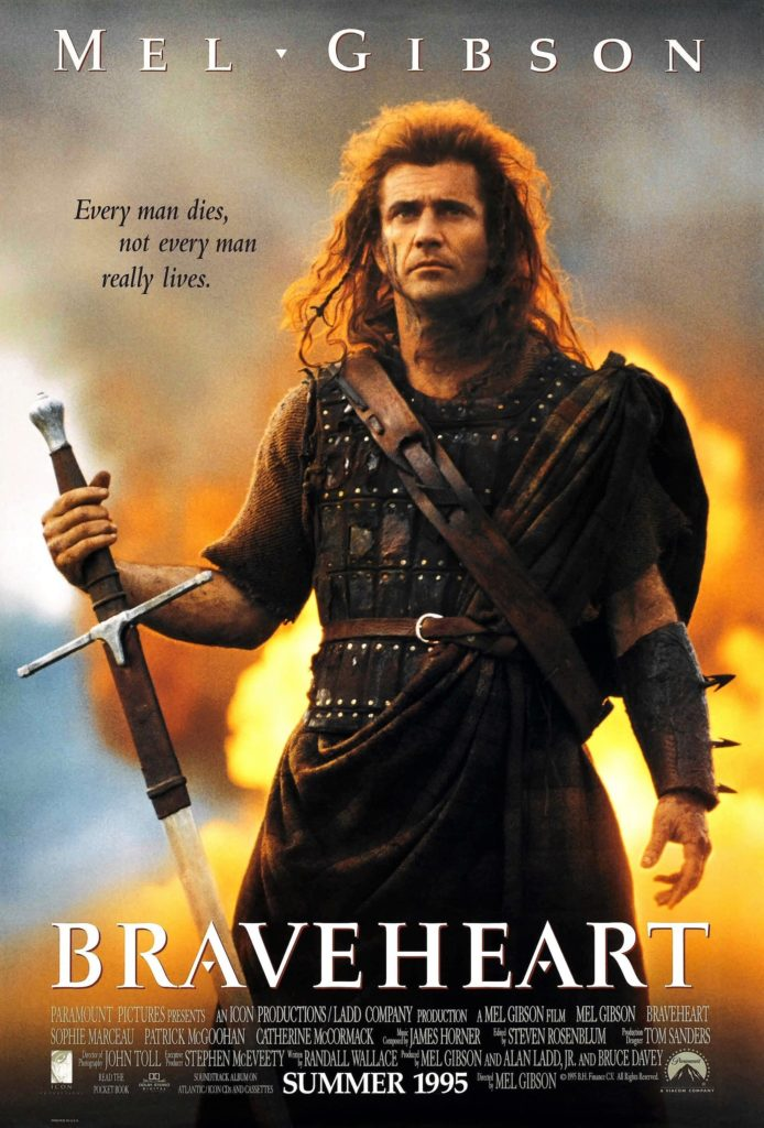 Story strands in Braveheart