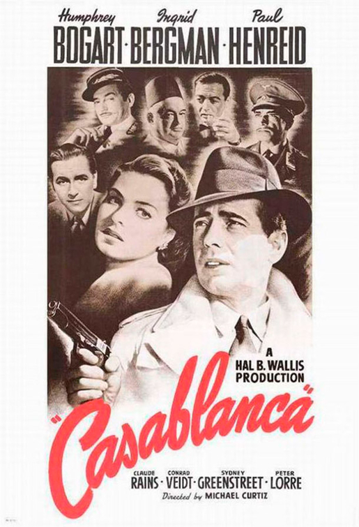 The hero's epiphany in Casablanca.
