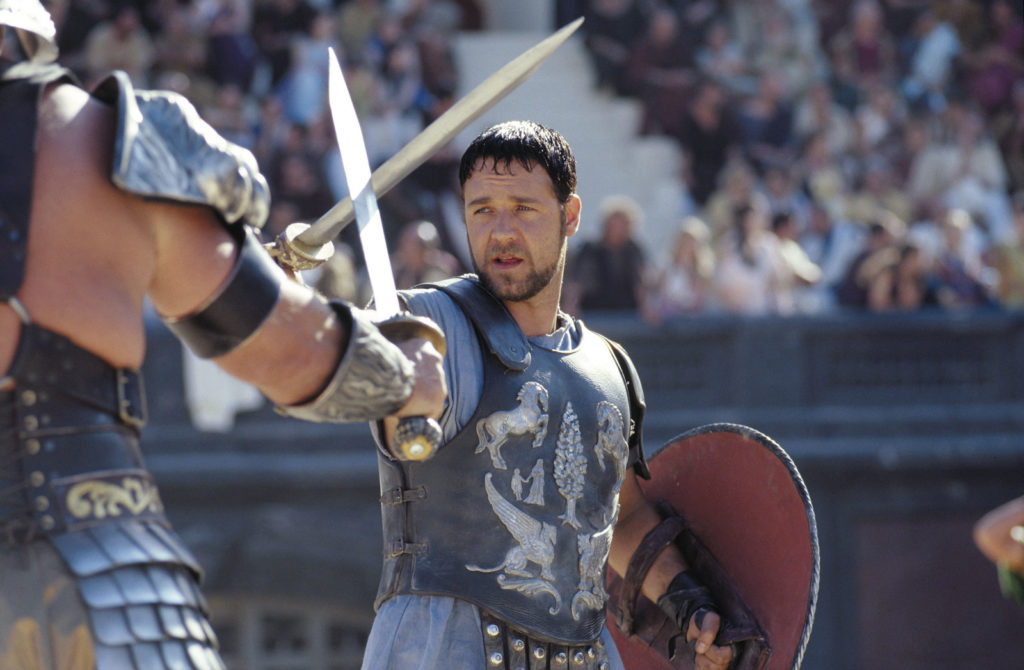 Gladiator provides a fitting example of story summary discussed in this article.