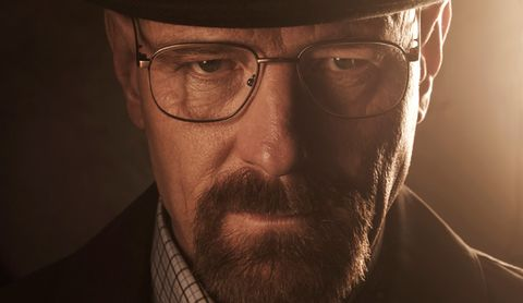 Walter White as one of the quintessential anti-heroes in Breaking Bad