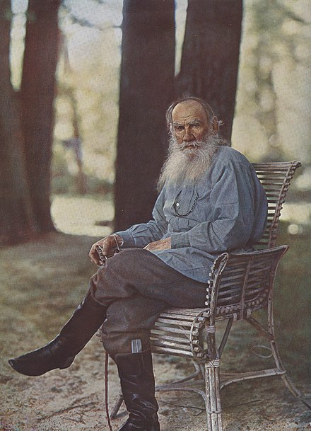Leo Tolstoy and enduring writing.