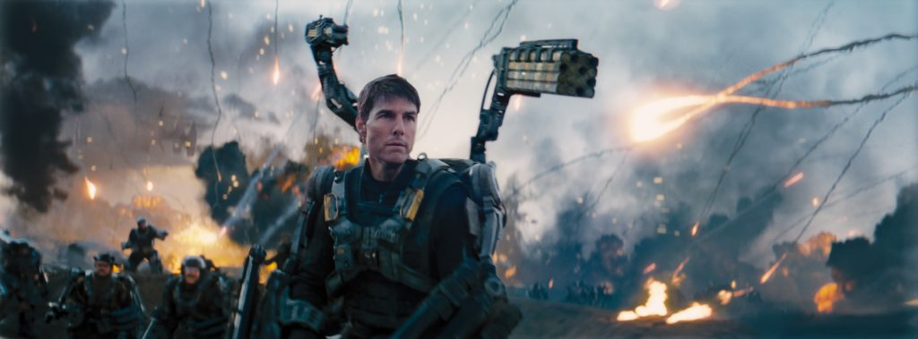 Perfectly Calibrated character actions in Edge of Tomorrow.