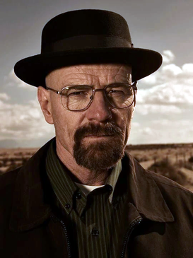Breaking Bad's Walter White is the embodiment of the moral premise: Crime leads to ultimate loss.